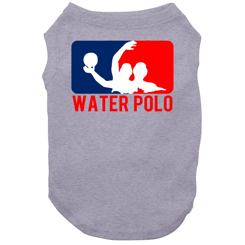 Water Polo Silhouette Fun Major League Sports Parody Dog