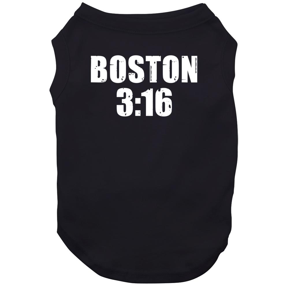 Boston 3:16 Stone Cold Steve Austin Wrestling Parody Dog