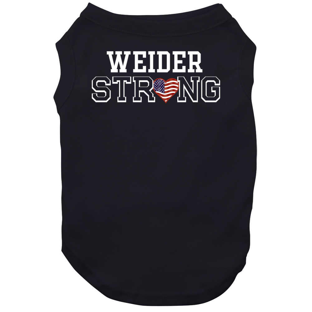 Weider Strong American Pride Family Last Name Cool Dog