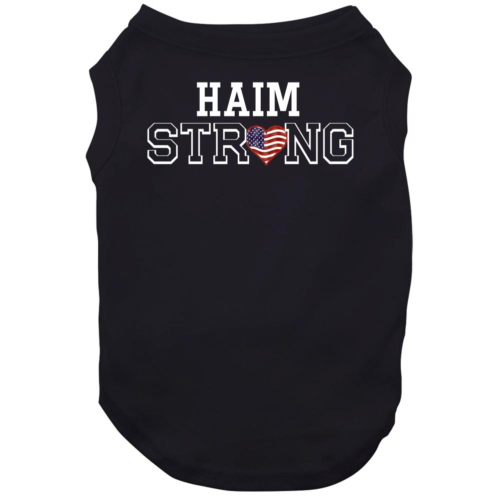 Haim Strong American Pride Family Last Name Cool Dog