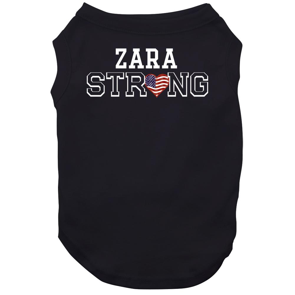 Zara Strong American Pride Family Last Name Cool Dog