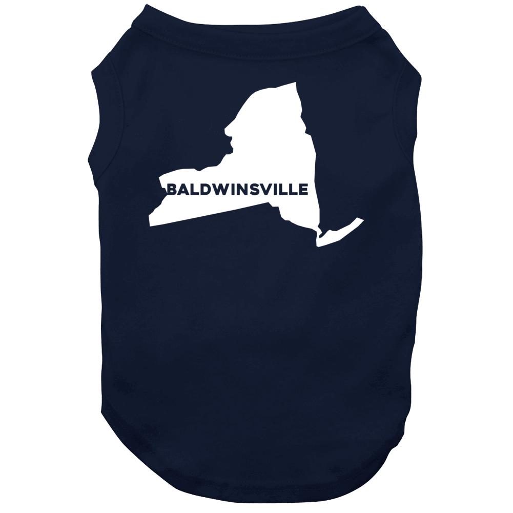 Baldwinsville New York Custom City Patriotic Usa Dog