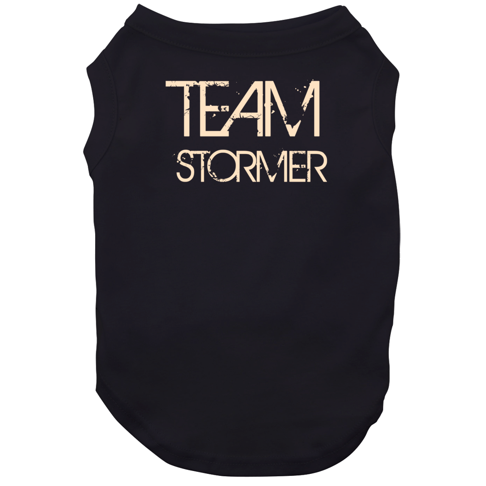 Team Sports Last First Name Stormer Dog