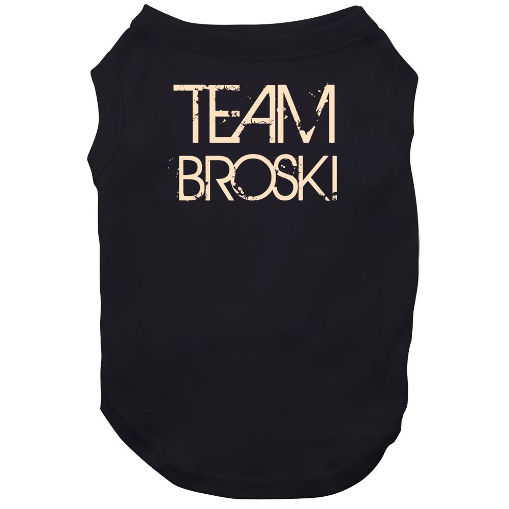 Team Sports Last First Name Broski Dog