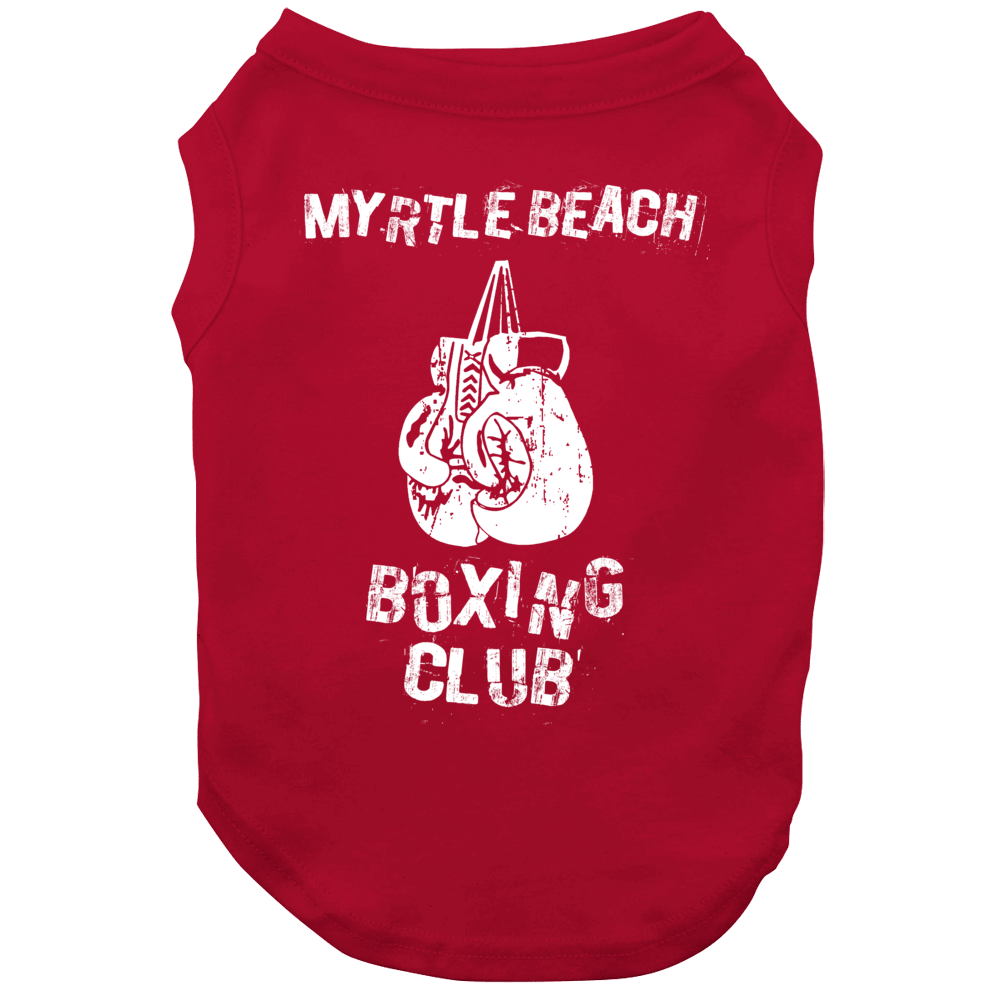 Myrtle Beach Boxing Club City Dog