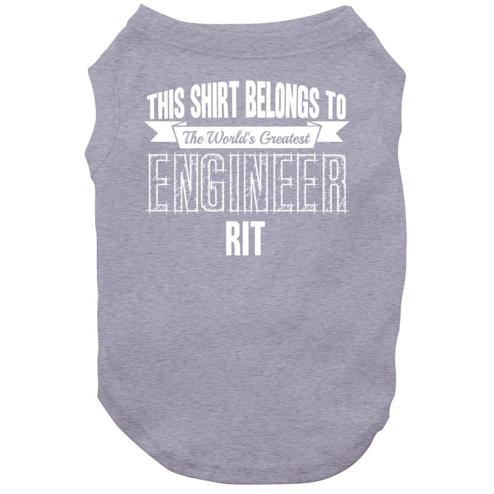 Rit Worlds Greatest Engineer Name Dog