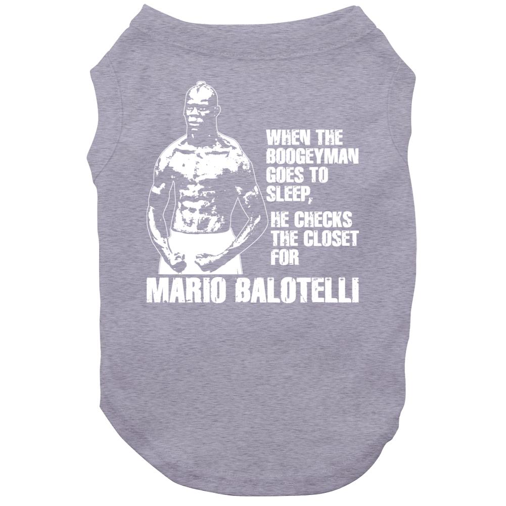 Mario Balotelli Boogeyman Italy Soccer Dog