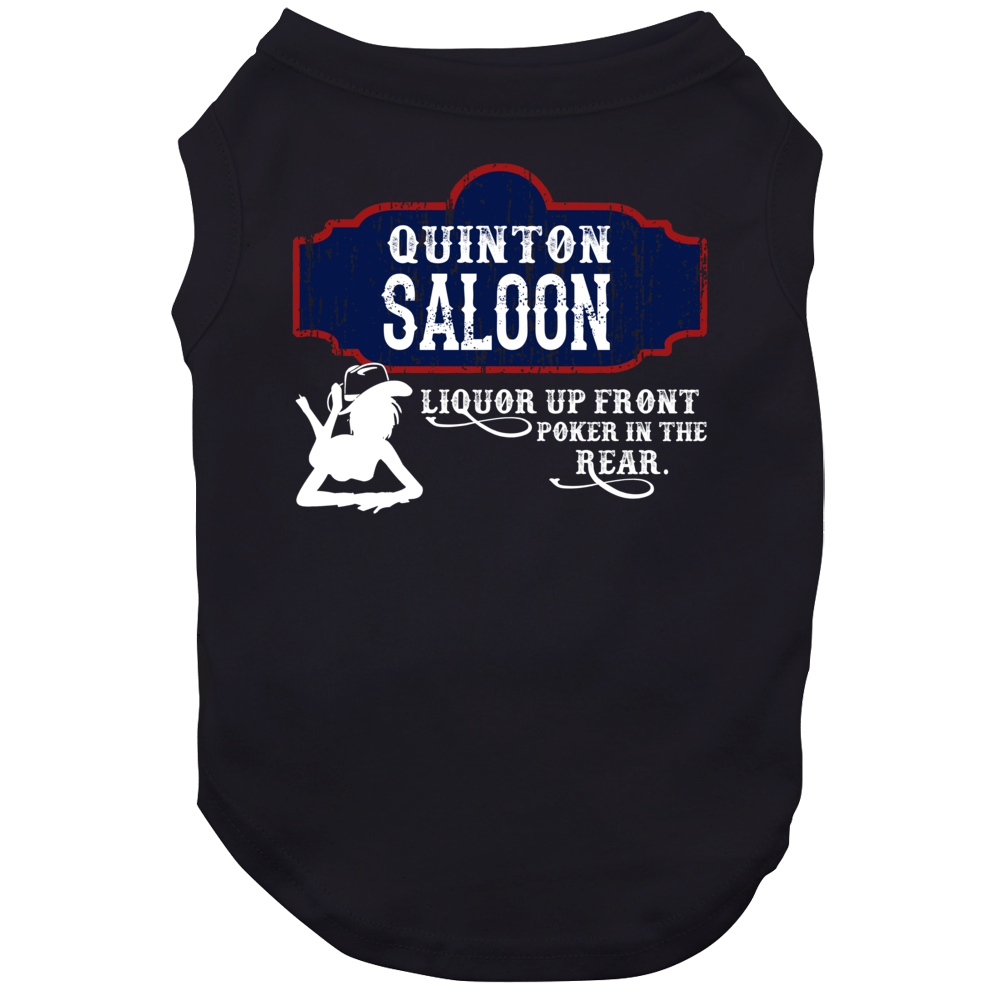 Quinton Saloon First Name Dog