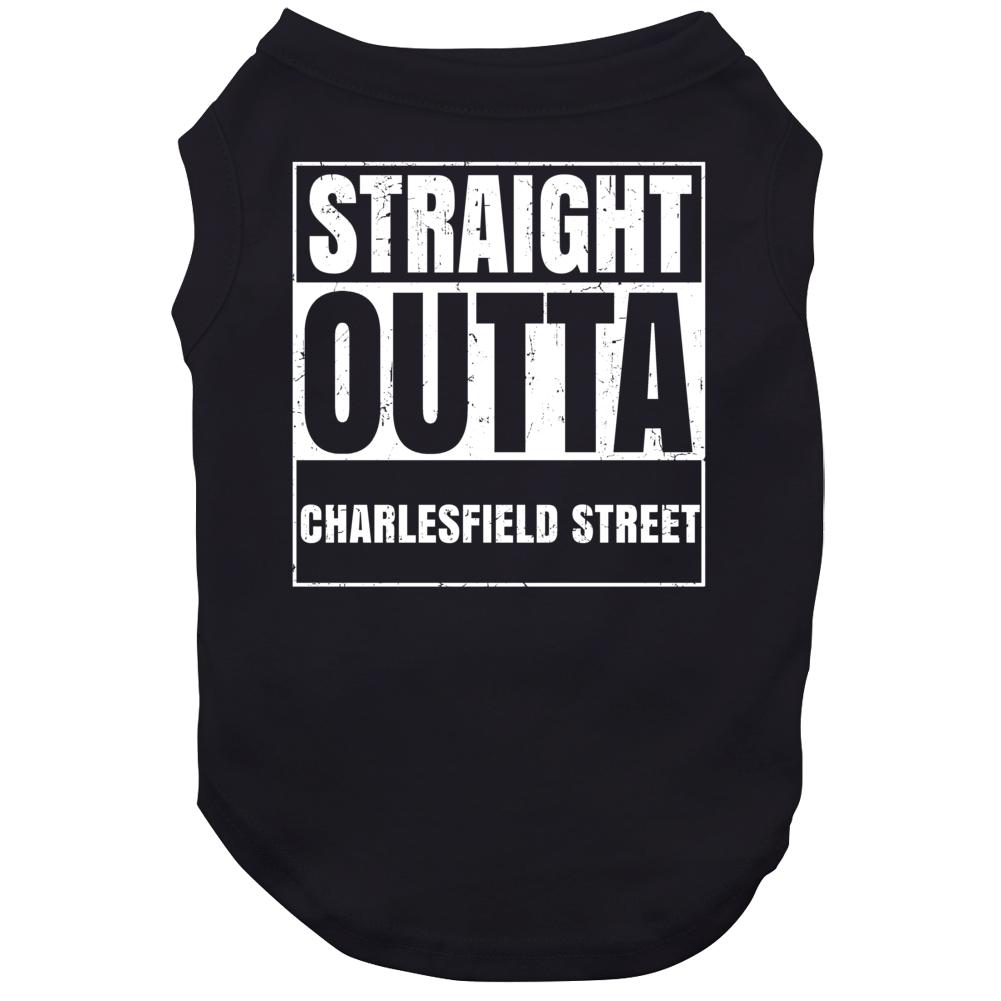 Straight Outta Charlesfield Street Street Name Neighbourhood Parody Dog