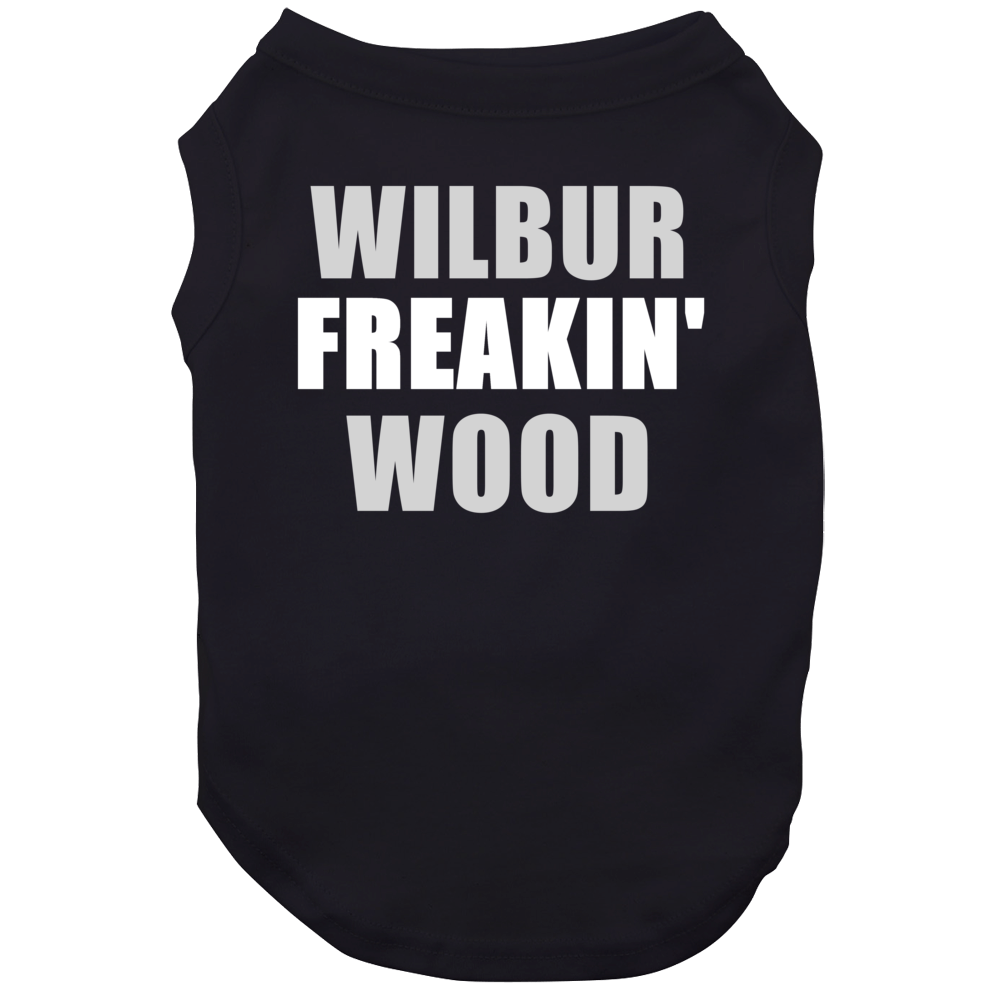 Freakin' Wilbur Wood Chicago Baseball Sports Dog