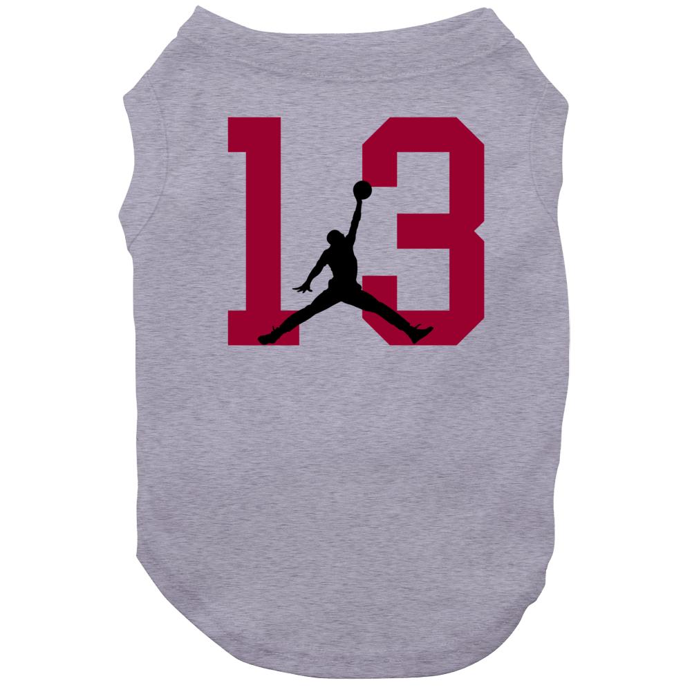 Bam Adebayo #13 Miami Basketball Silhouette Player Sports Fan Dog