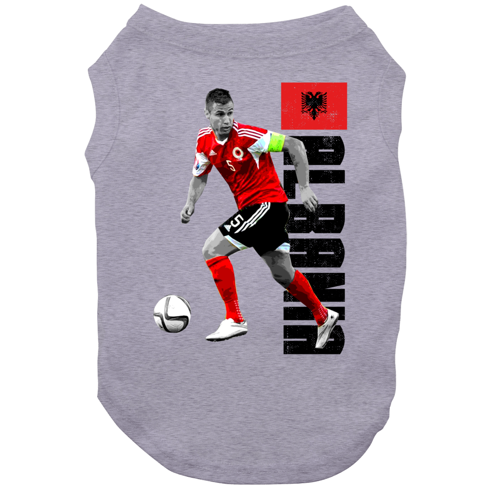 Lorik Cana Full Body Albania Euro Cup Soccer Dog