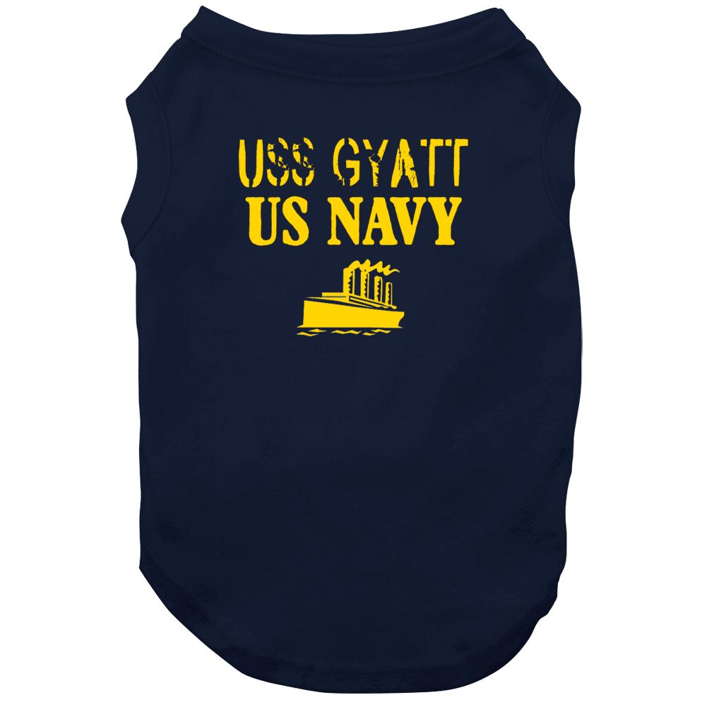 Uss Gyatt Us Navy Ship Crew Dog