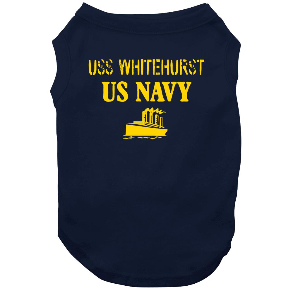 Uss Whitehurst Us Navy Ship Crew Dog
