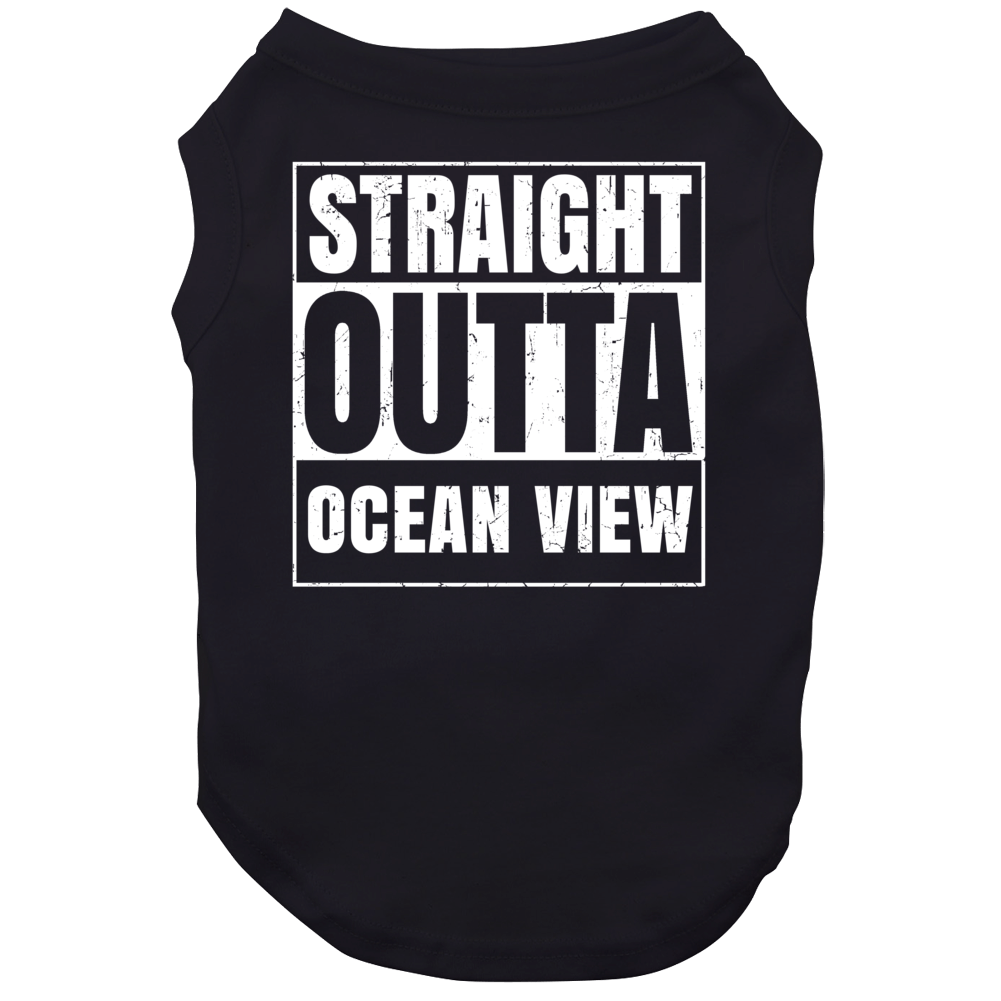 Straight Outta Ocean View High School Funny Compton Parody Dog