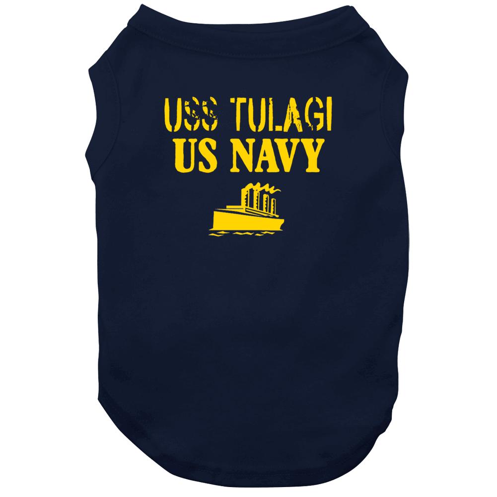 Uss Tulagi Us Navy Ship Crew Dog