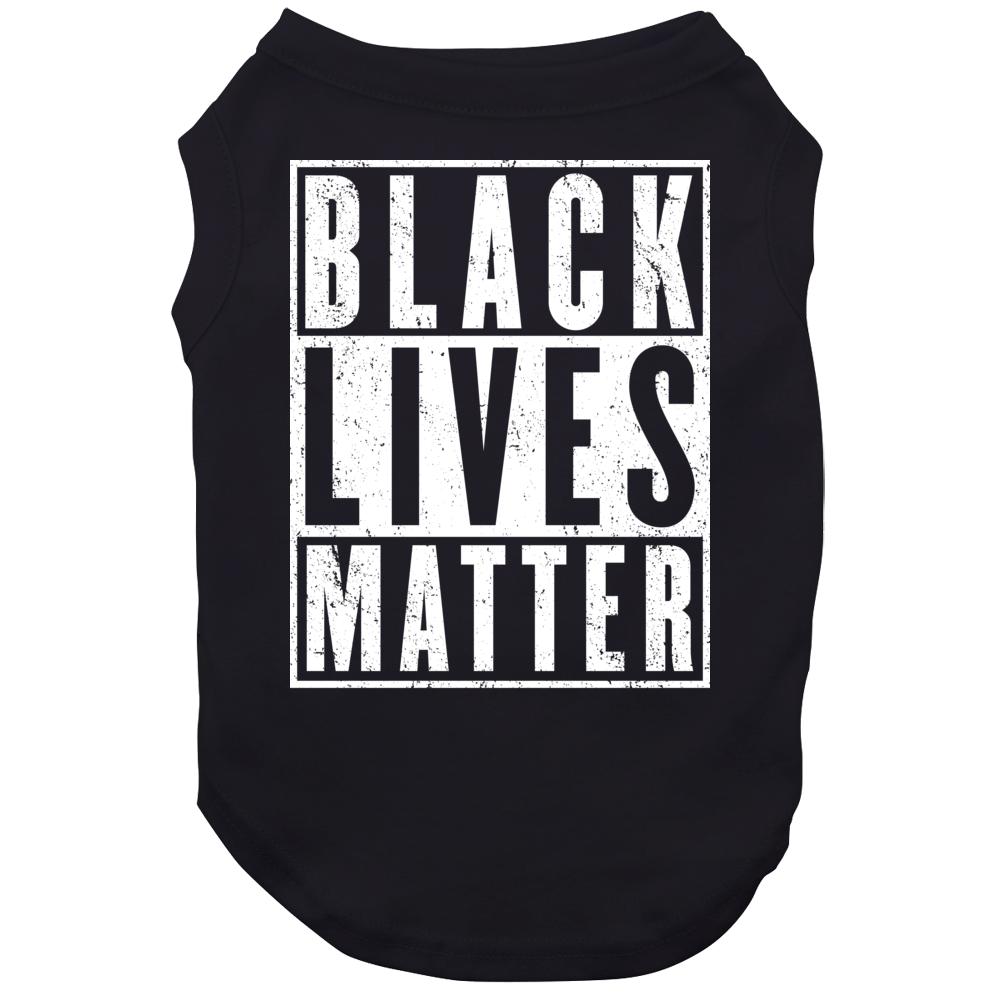 Black Lives Matter Civil Rights Awareness Worn Look Dog