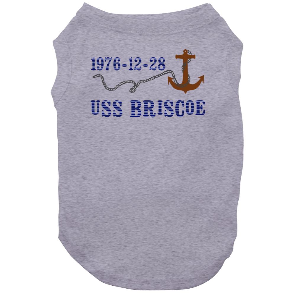 Uss Briscoe 28122 Anchor Navy Ship Dog
