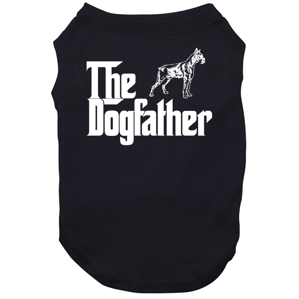 Boxer Custom Dog Breed The Dogfather Black Dog
