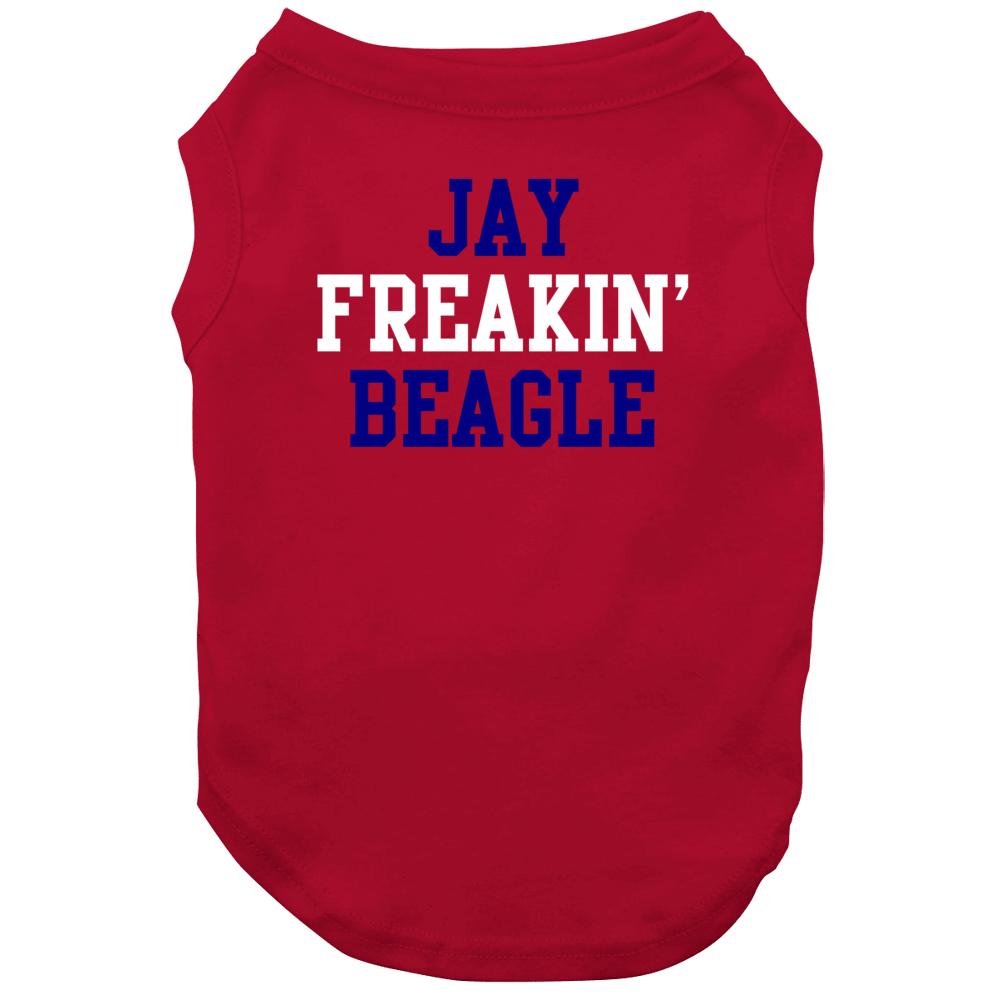 Jay Freakin Beagle Washington Hockey Player Sports Fan Dog