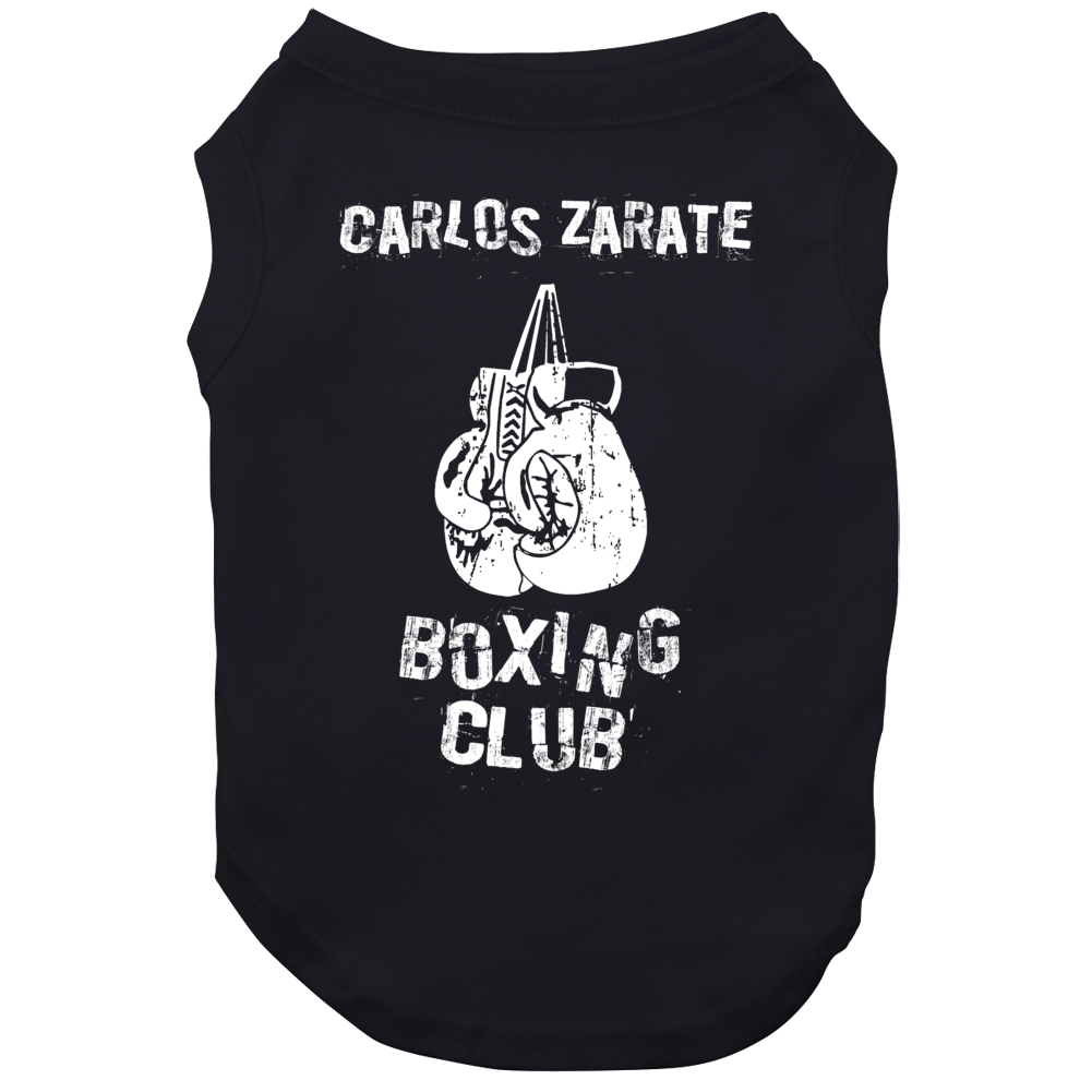 Carlos Zarate Boxing Club Boxing Hall Of Fame Dog