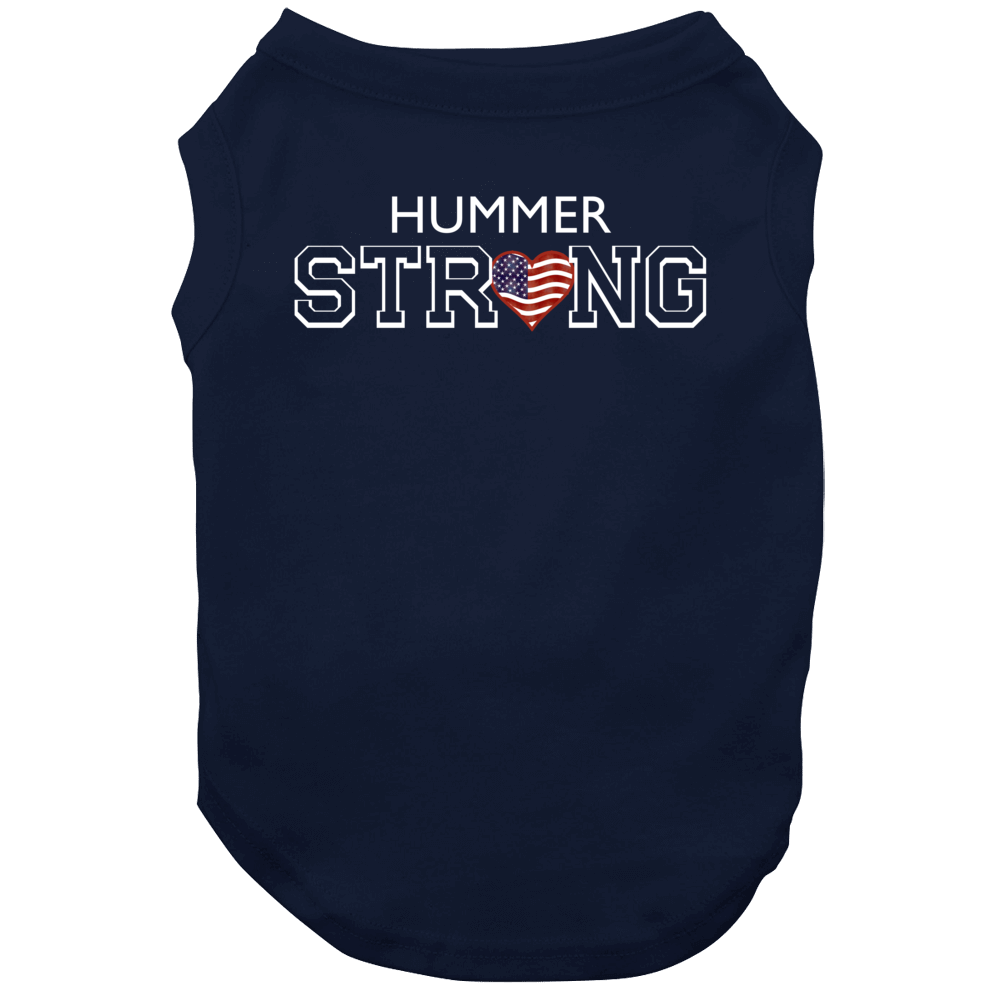 Hummer Last Name Strong American Dog
