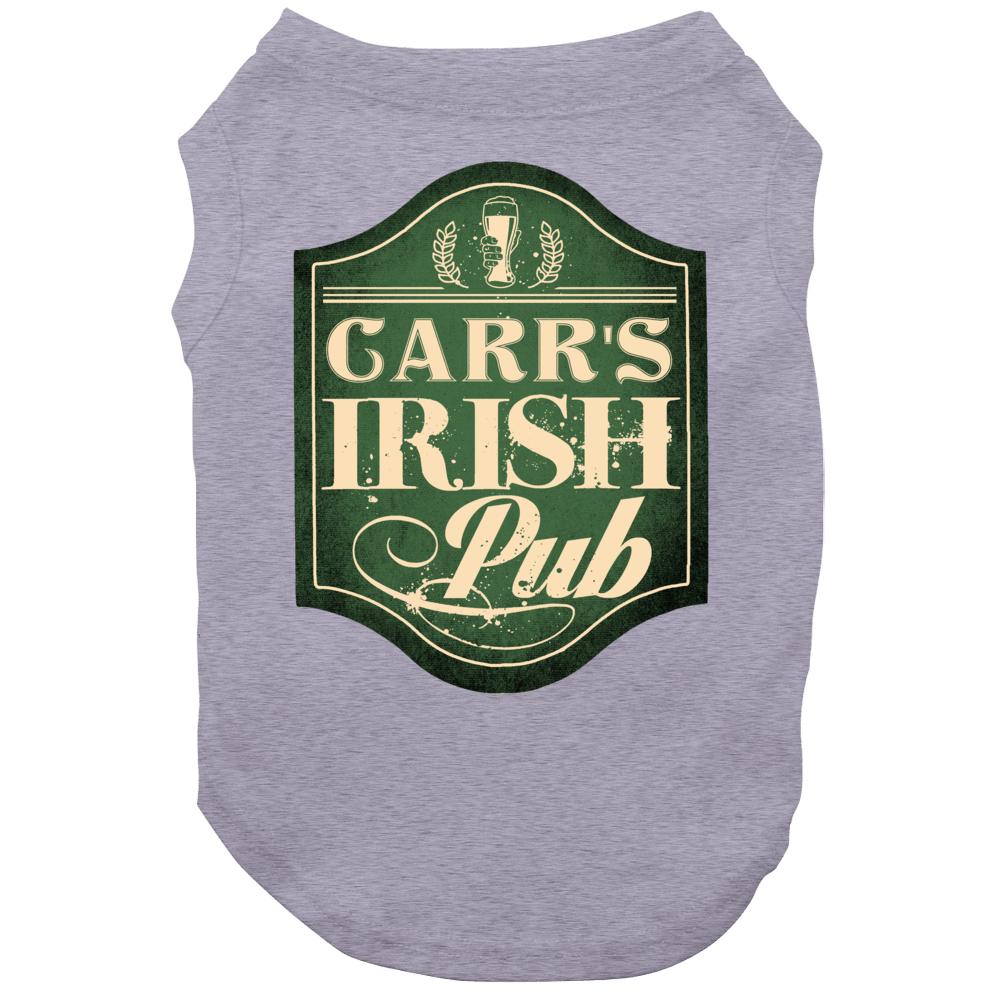 Carr Irish Pub Last Name Custom Beer Drinking St Patricks Day Party Dog