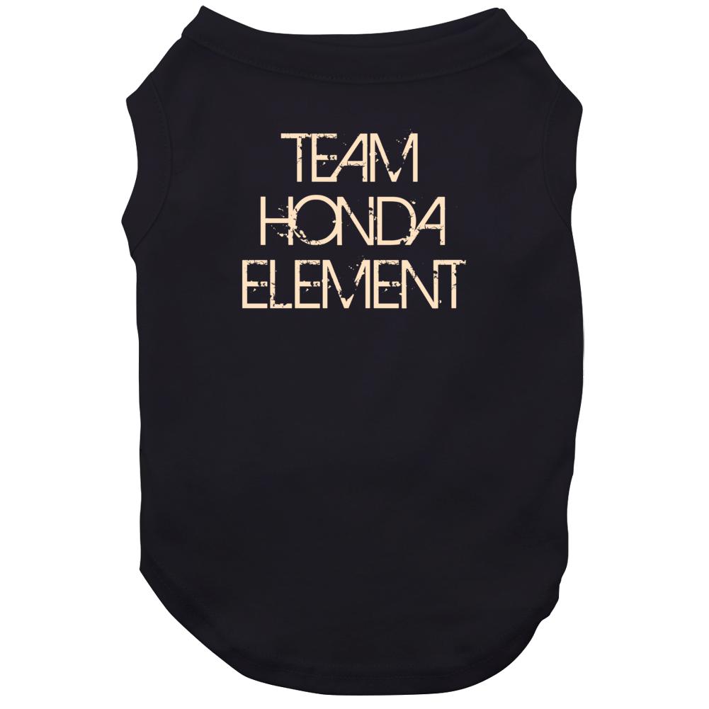Team Honda Element Car Lover Dog