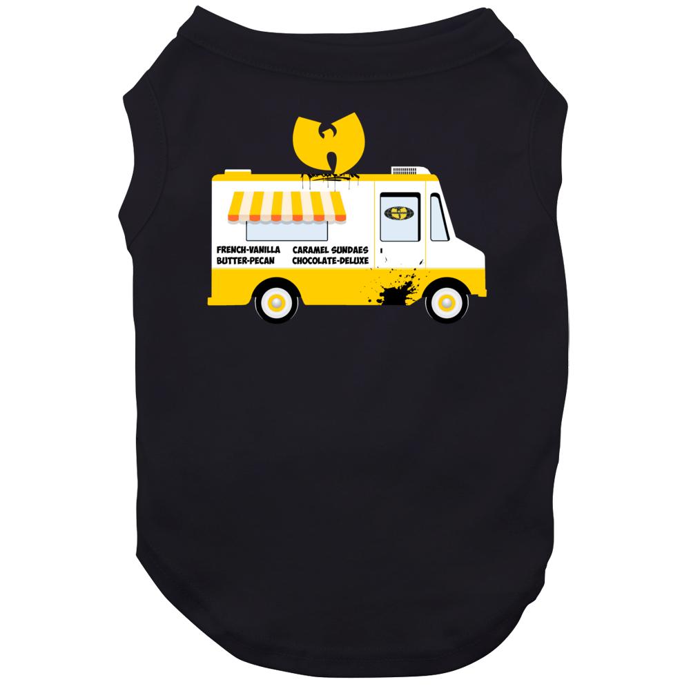Wu Tang Ice Cream Truck French Vanilla Rap Group Logo Dog
