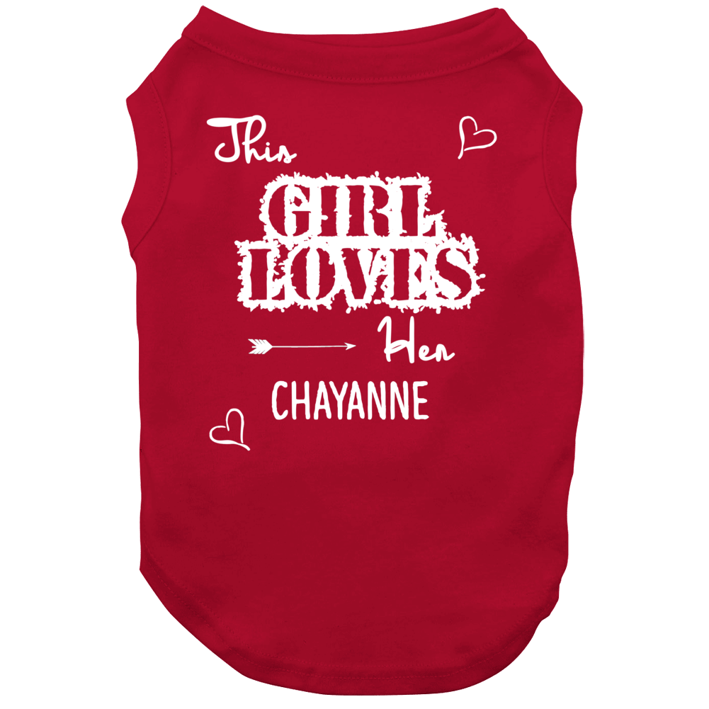 This Girl Loves Her Chayanne Cute Relationship Dog