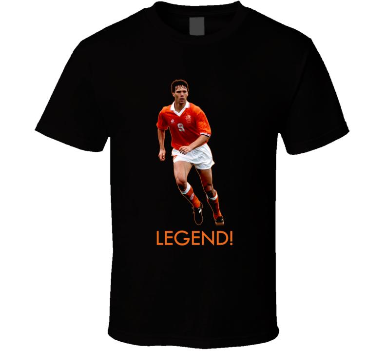 Marco Van Basten Holland Soccer T Shirt