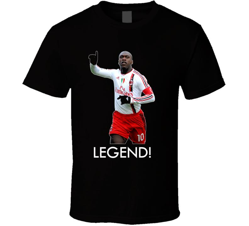Clarence Seedorf AC Milan Soccer T Shirt