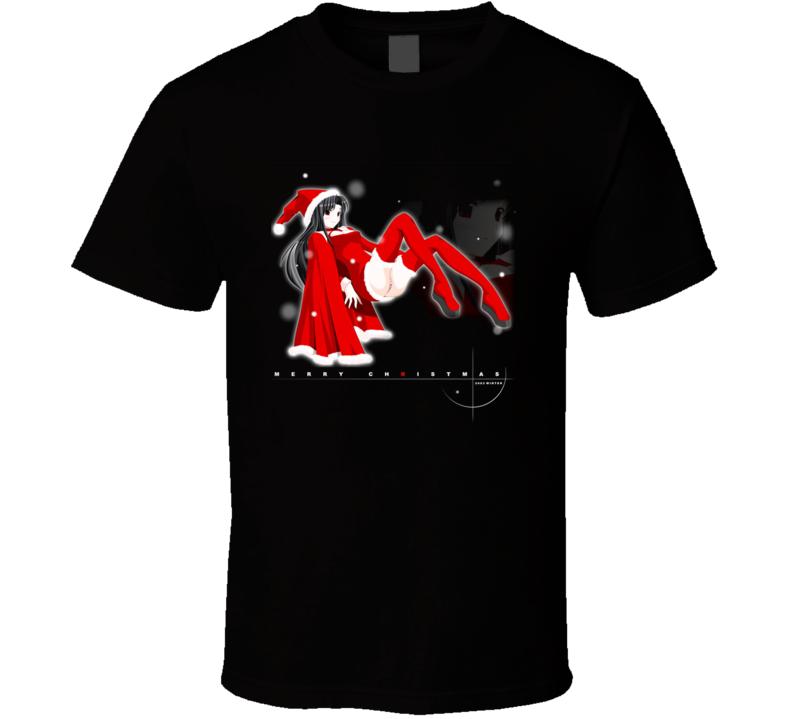 Sexy Anime Christmas T Shirt