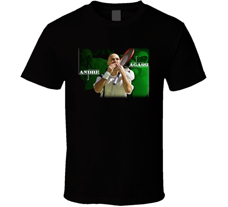Andre Agassi Tennis T Shirt