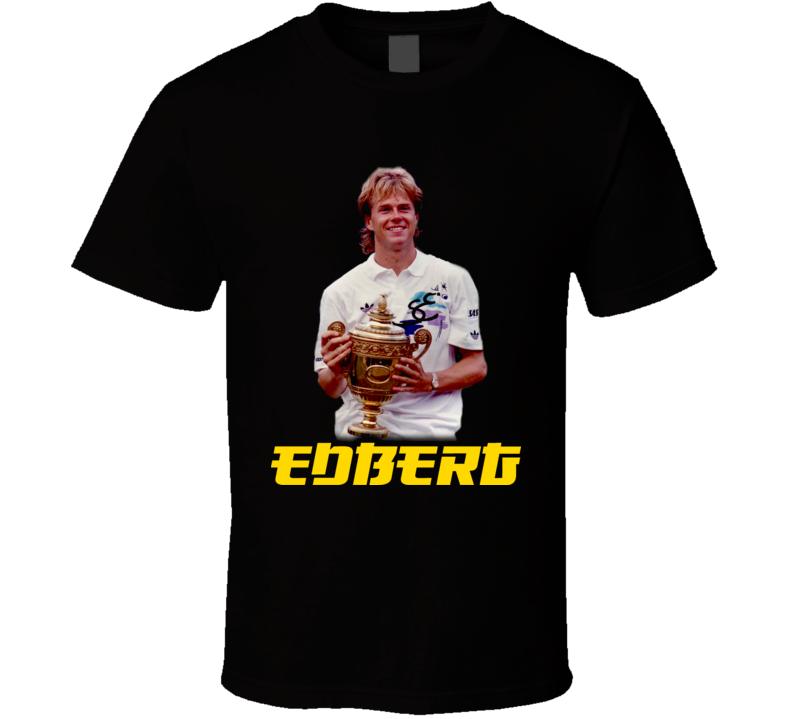 Stefan Edberg Tennis T Shirt