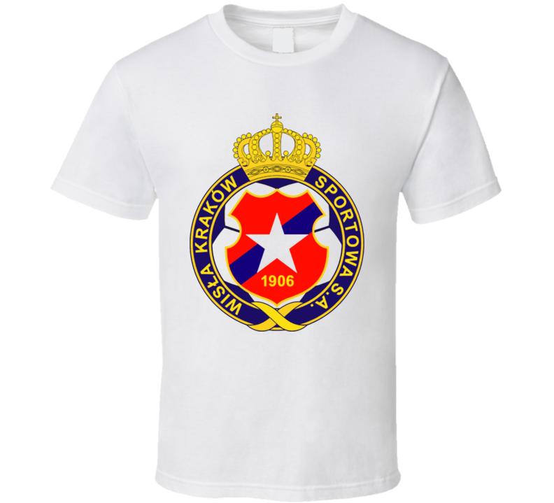 Wisla Krakow Poland Soccer Logo T Shirt