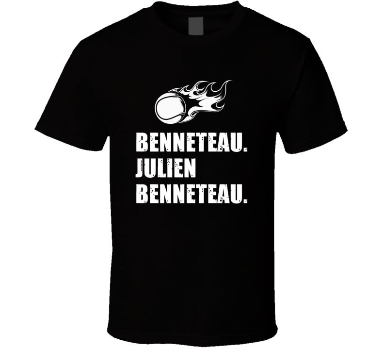 Julien Benneteau Tennis Player Name Bond Parody T Shirt