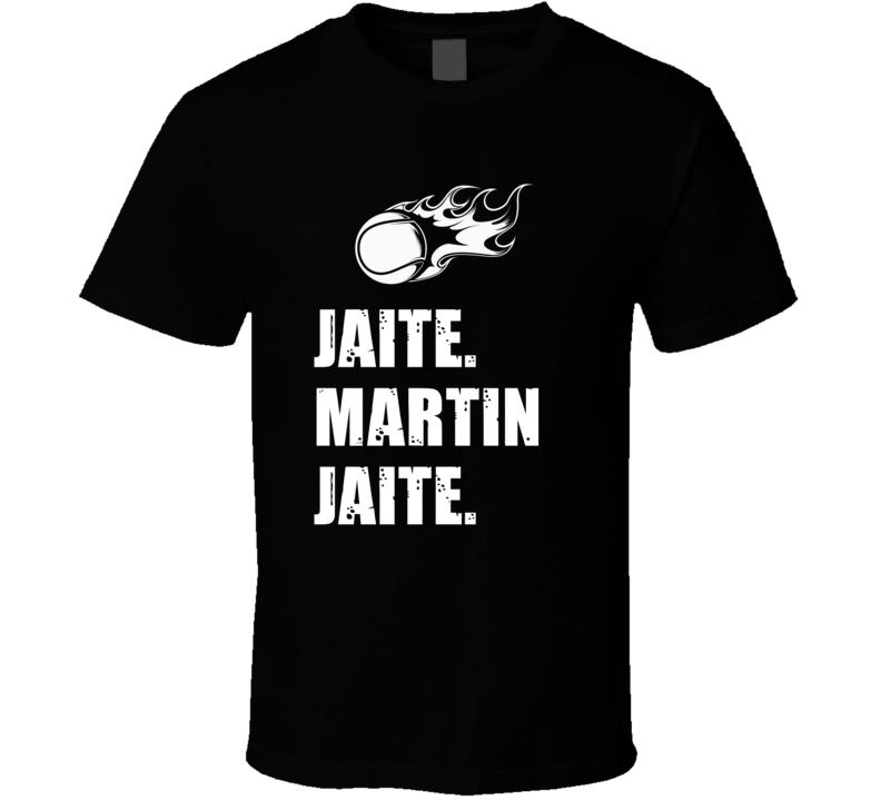 Martin Jaite Tennis Player Name Bond Parody T Shirt