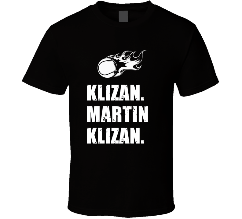 Martin Klizan Tennis Player Name Bond Parody T Shirt