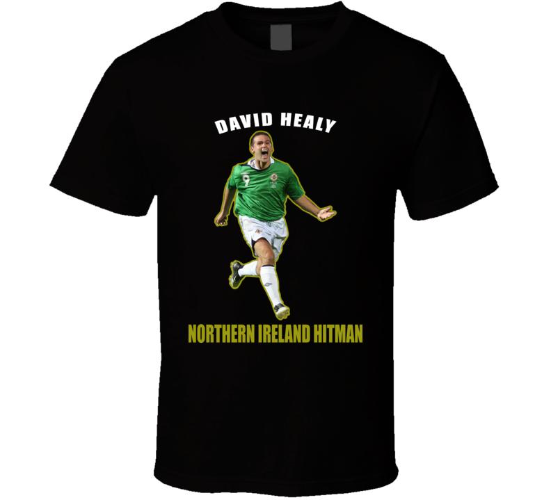 David Healy Soccer T Shirt
