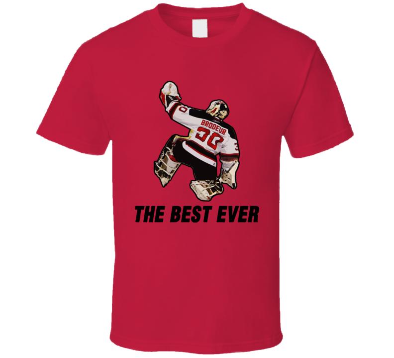 Martin Brodeur Hockey T Shirt