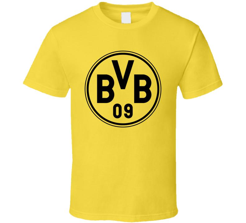 Borussia Dortmund Bvb 09 Logo Germany Soccer Bundesliga T Shirt