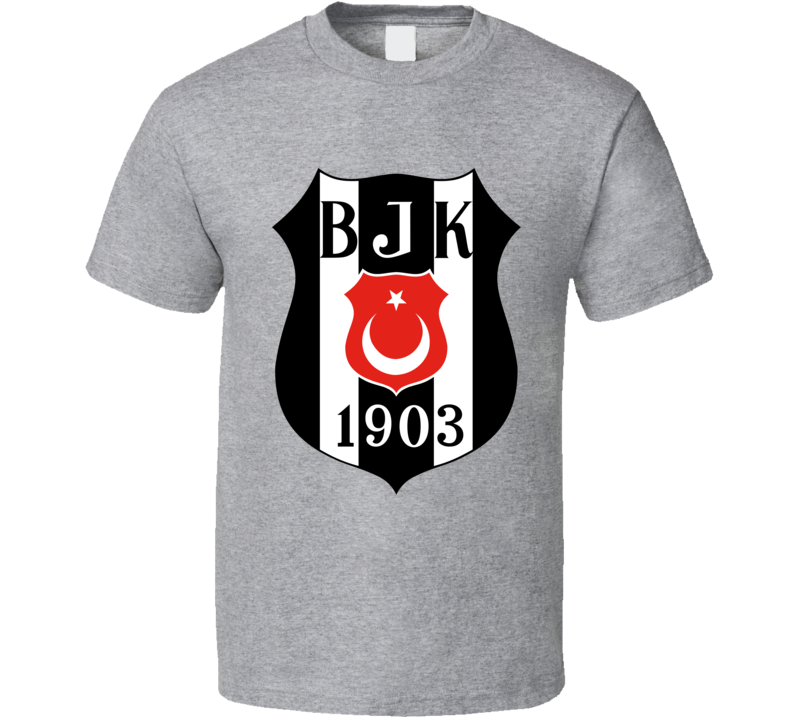 Besiktas Turkey Soccer Logo Bjk 1903 T Shirt