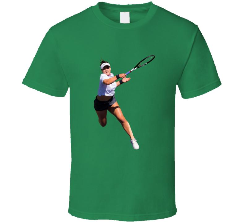 Bianca Andreescu Tennis Player Us Open Champion Figure T Shirt