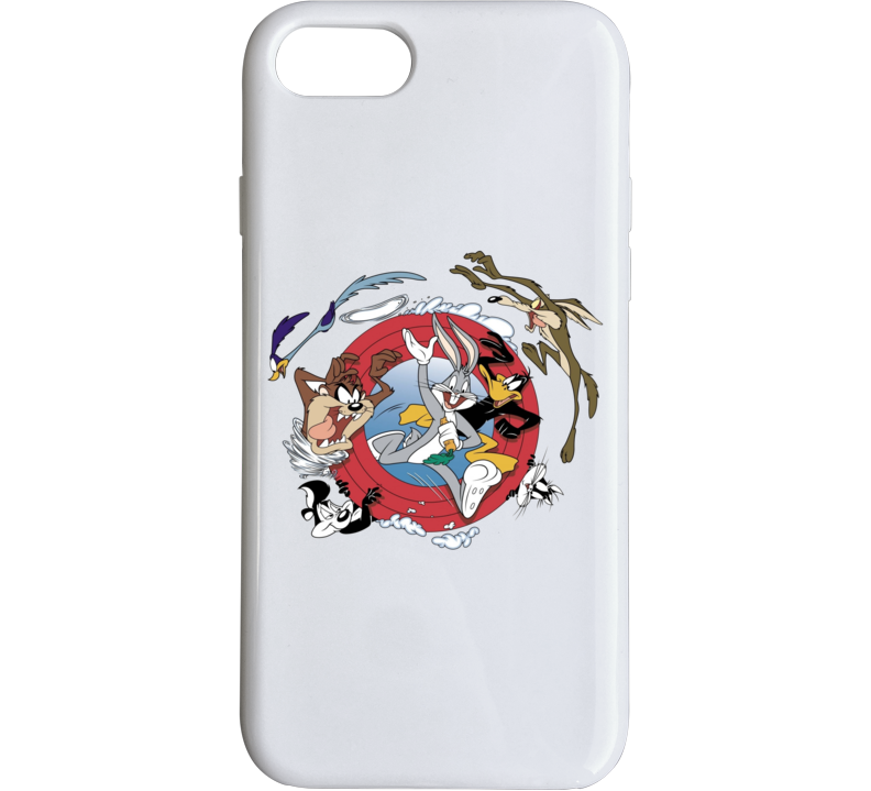 Bugs Bunny Daffy Duck Road Runner Looney Tunes Cartoon Phone Case