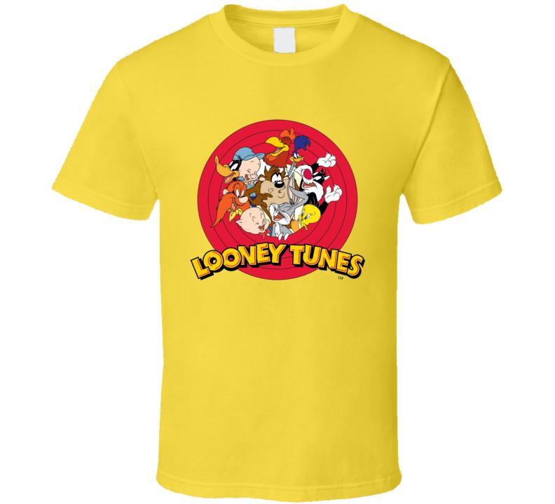 Bugs Bunny Daffy Duck Porky Pig Looney Tunes Cartoon T Shirt