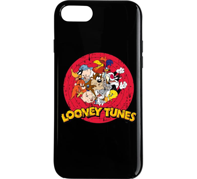 Bugs Bunny Daffy Duck Porky Pig Looney Tunes Cartoon Aged Phone Case