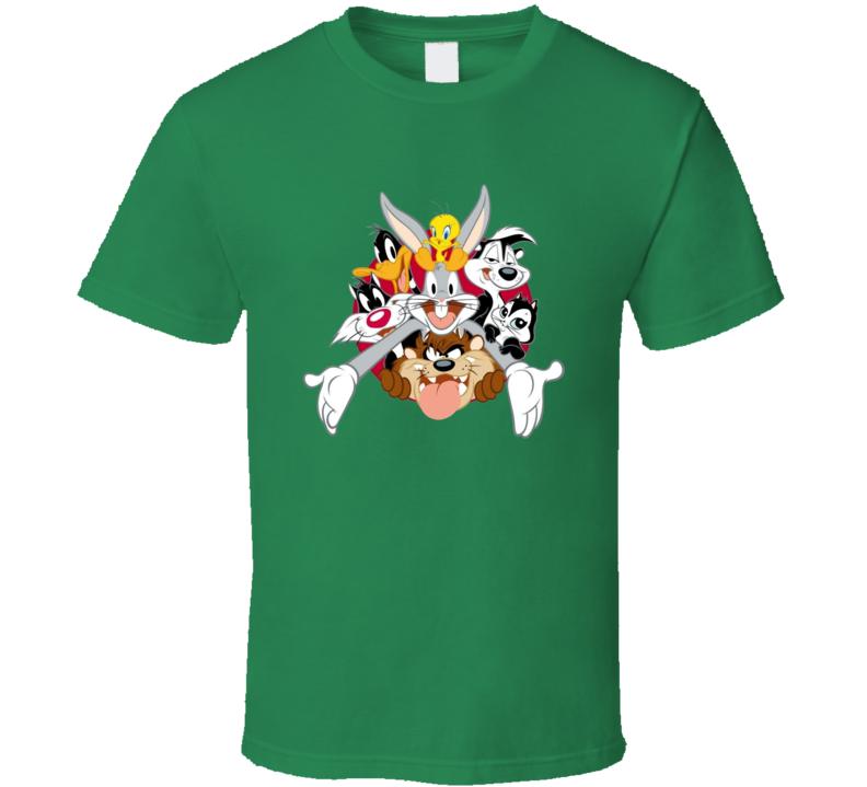 Bugs Bunny Daffy Duck Tweety Bird Looney Tunes Cartoon T Shirt