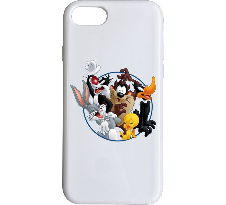 Bugs Bunny Daffy Duck Sylvester Cat Looney Tunes Cartoon Phone Case