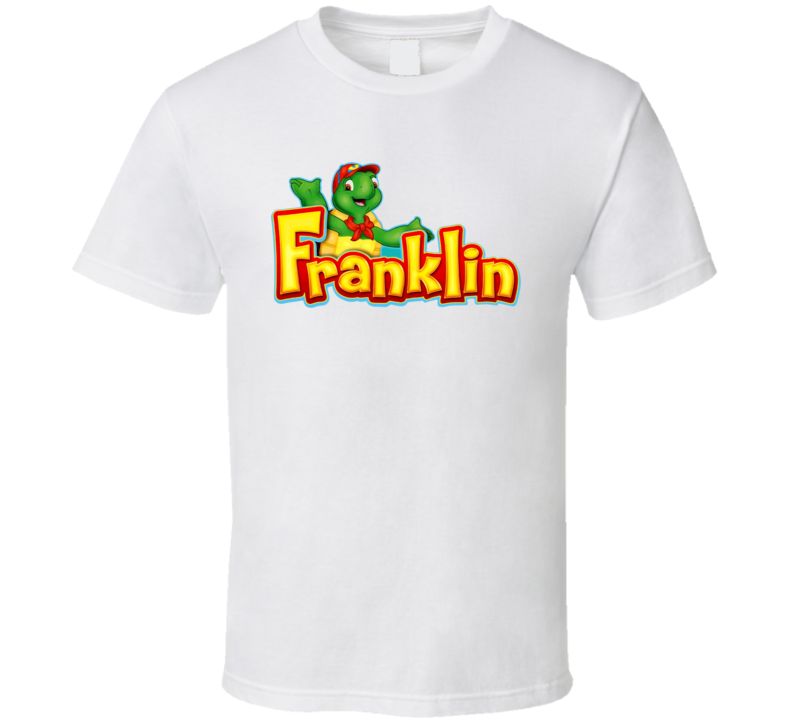 Franklin The Turtle Cartoon T Shirt